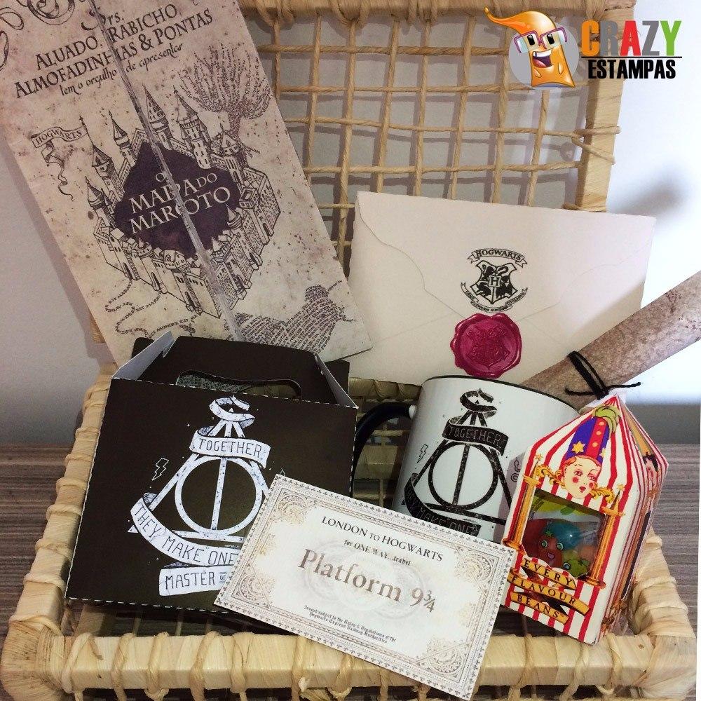 452966e3322846 Kit Harry Potter Delícia + Kit De Poções
