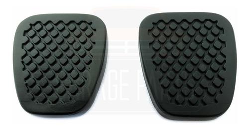 kit haste antena 42cm + capas pedal honda fit até 2008