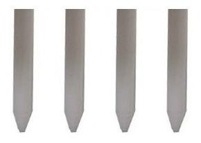 kit haste para suporte tipo banquinho 4 peças 8cm de altura