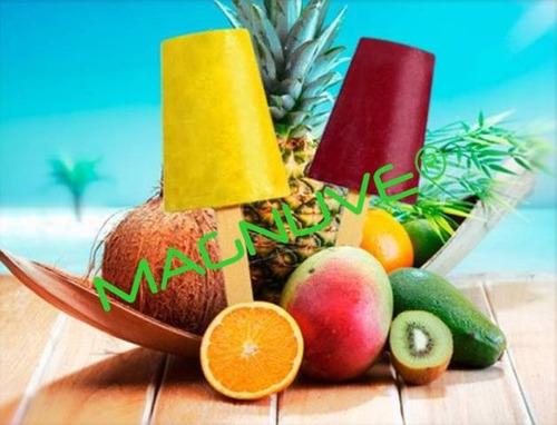 kit helados cremosos caseros negocio recetas ingredientes