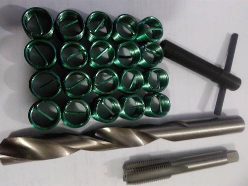 kit helicoil recuperar  rosca velas  m10 m12 m14