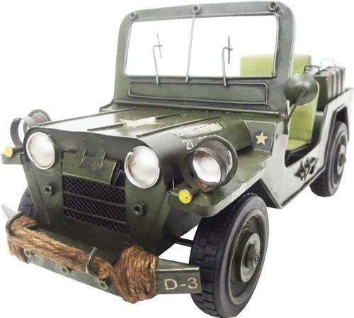 kit helicoptero 40cm e jeep 28cm exercito guerra ferro retro