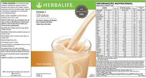 kit herbalife: 1 shake + 1 chá 50g + 1 fiber + 1 prot 240g