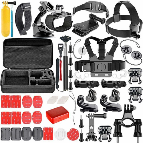 kit hero 7 6 5 2 3 4 edition silver black session gopro 2018