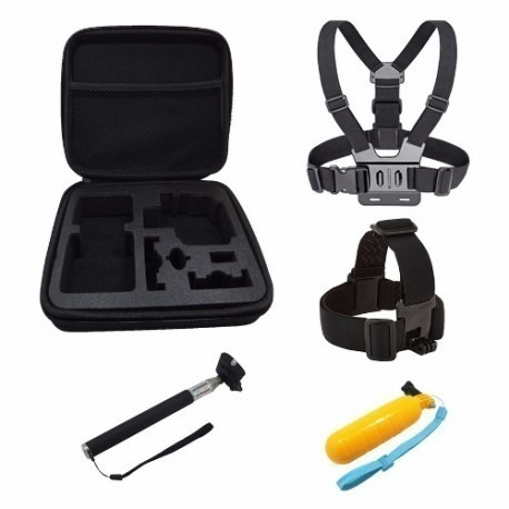 kit hero 8 7 6 5 3 4 edition black silver session gopro 2018