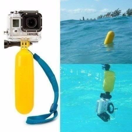 kit hero bastão boia flutuante + case protetora prova d água