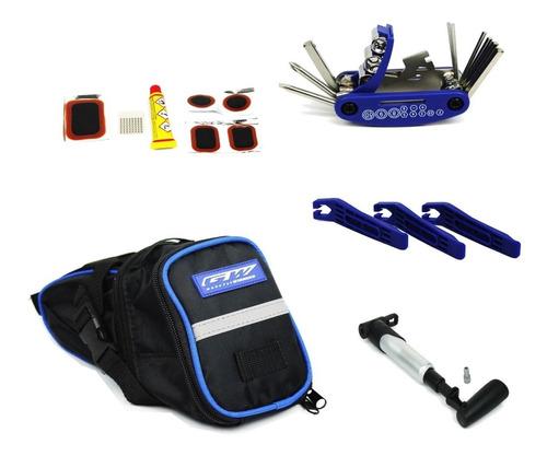 kit herramienta gw bicicletas 7 piezas mtb ruta repuestos