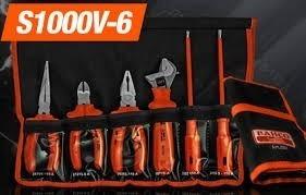 kit herramientas aisladas bahco s1000v-6 6 piezas 1000v