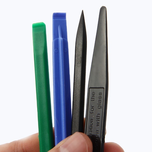 kit herramientas apertura celulares espatula spudger metal