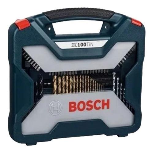 kit herramientas bosch con 100 unidades 2607017397