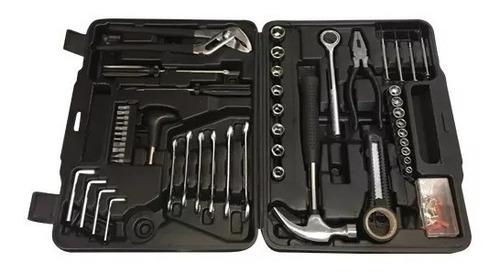 kit herramientas caja juego 141 piezas c valija vision elite