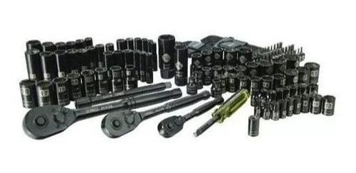 kit herramientas dados mecánico 143 pzas cromo stanley