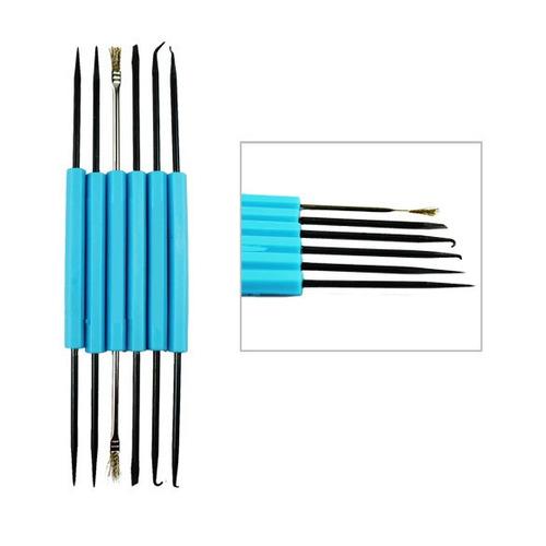 kit herramientas de precisión doble cara limpieza soldadura