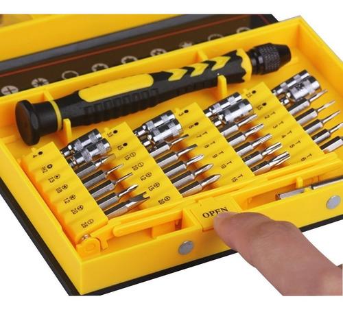 kit herramientas destornillador celular iphone mac samsung