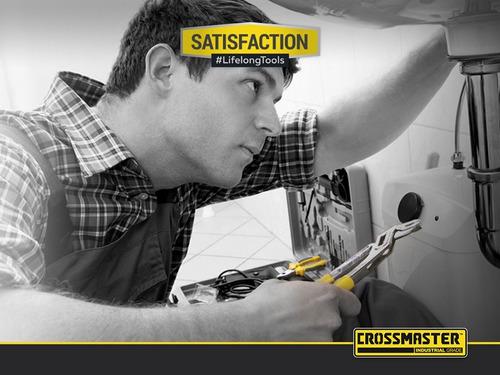 kit herramientas en set de pinzas 3 piezas crossmaster
