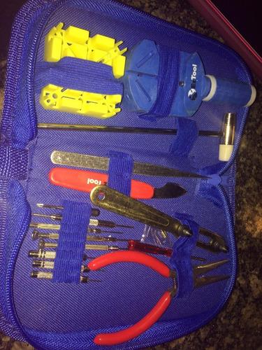 kit herramientas eztool para abrir relojes