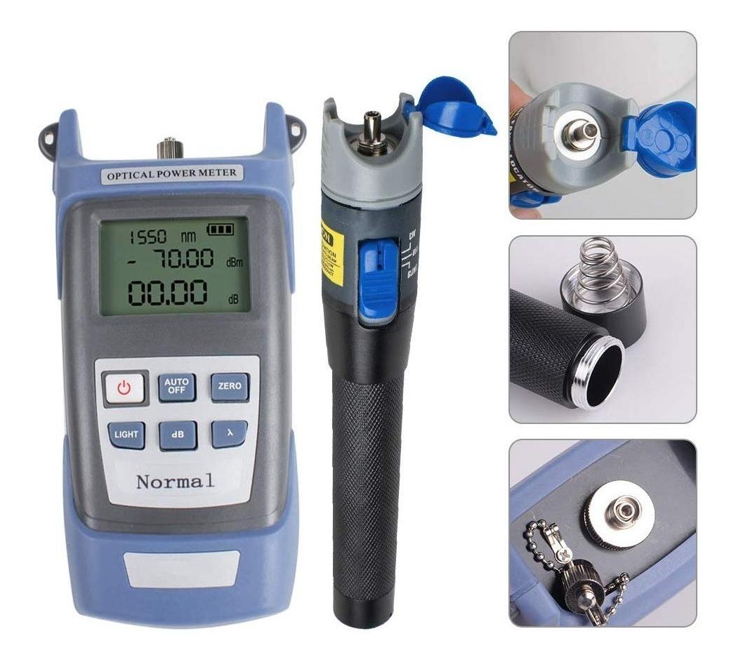 Kit de herramientas de pelado de fibra /óptica empalme de empalme FTTH Juego de herramientas de pelado de fibra /óptica con cuchilla de fibra dise/ñada para mantenimiento de instalaci/ón