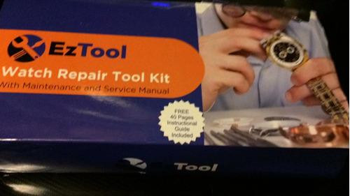kit herramientas para relojes