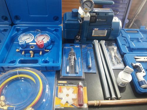 kit herramientas refrigeracion profecional bomba dosivac 130
