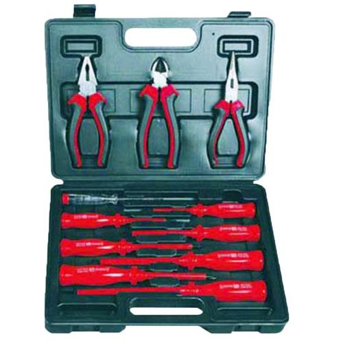 kit herramientas set completo destornilladores pinza alicate