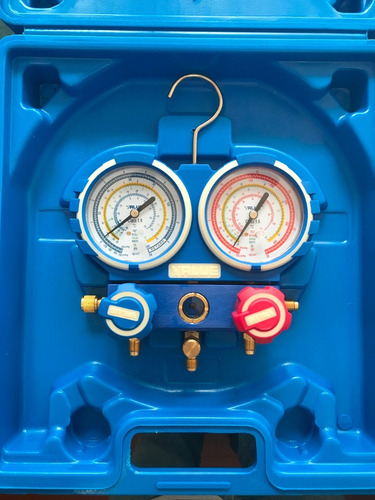 kit herramientas value refrigeracion pestañadora, manifold
