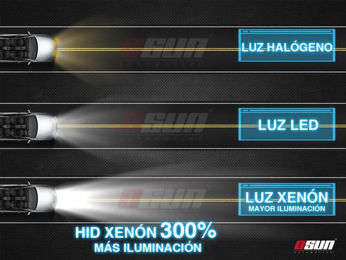 kit hid xenon osun autos faros luces focos h7 h11 9005 h3