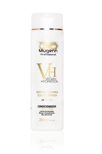 kit hidratação vegana mugenn cosméticos 4 produtos