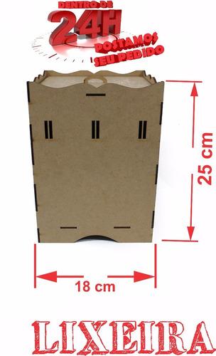 kit higiene bebe passa-fita 8pçs+cabo+brinde desmontado mdf