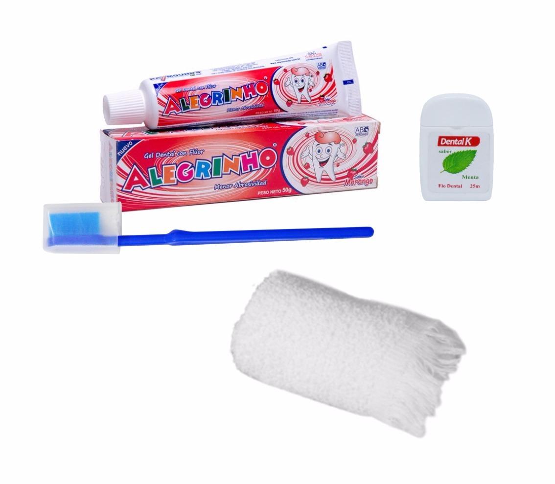 ee5cc7075 Kit Higiene Bucal Infantil