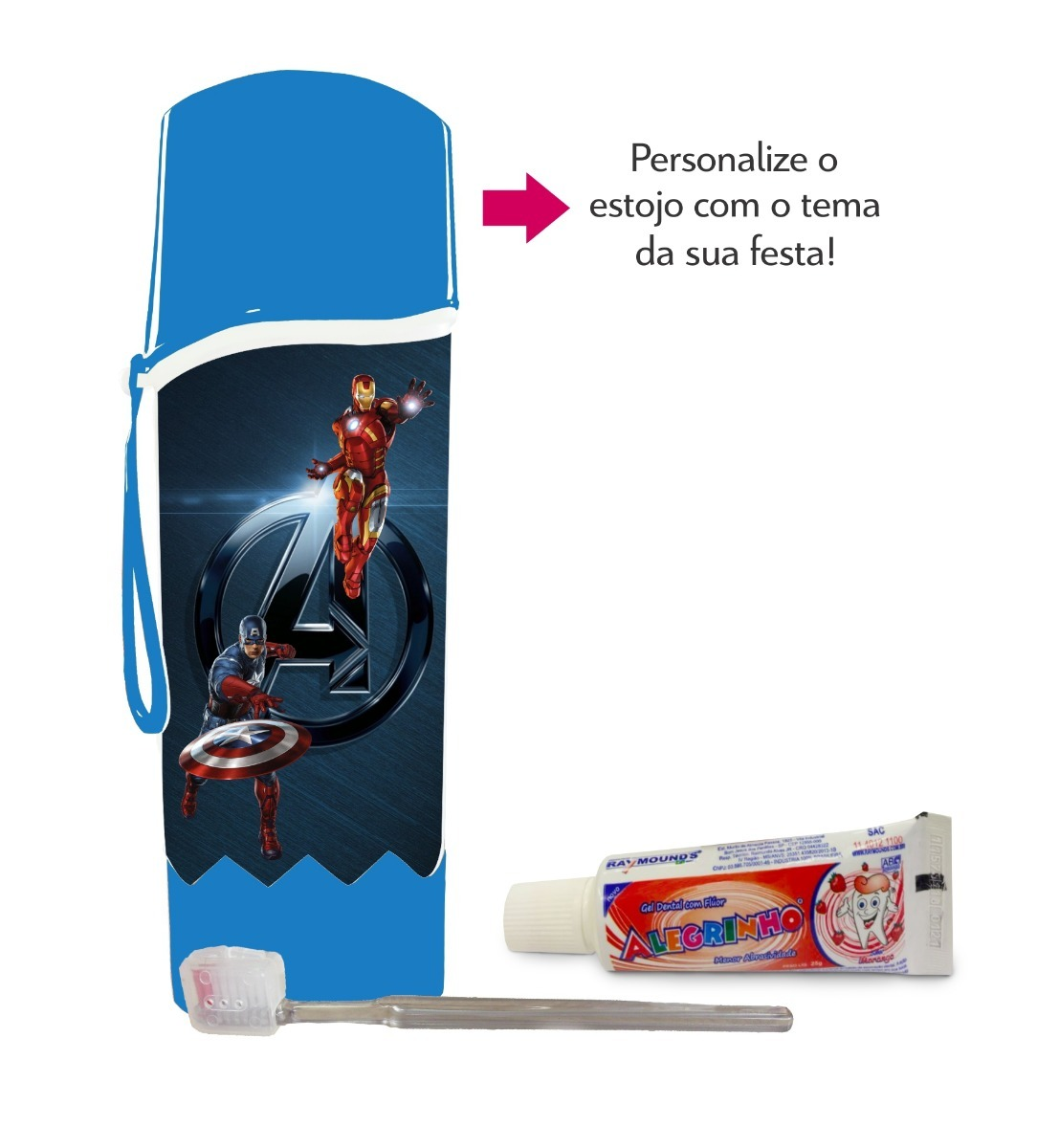 63fced4aa kit higiene bucal personalizado. Carregando zoom.