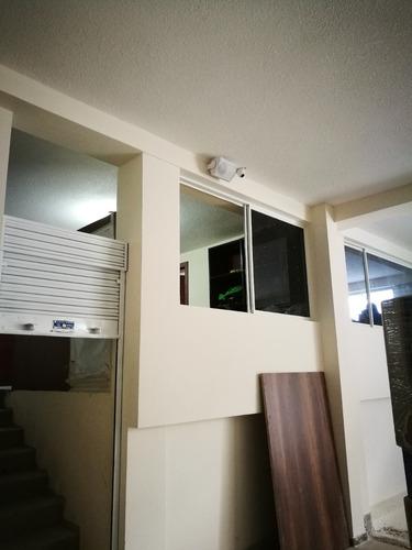 kit hikvision + instalación cámaras video seguridad (4 cams)