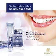 Kit Hinode Para Branquear Pasta E Enxaguante De Dente Dental R 34
