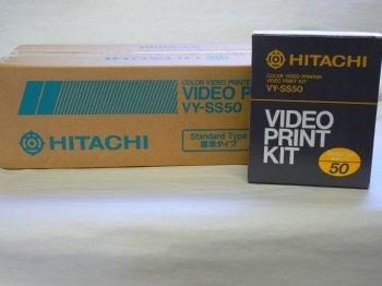kit   hitachi vy-ss50 video print kit