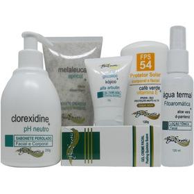 Kit Home Care Clareamento Todos Os Tipos De Peles  Bioexotic