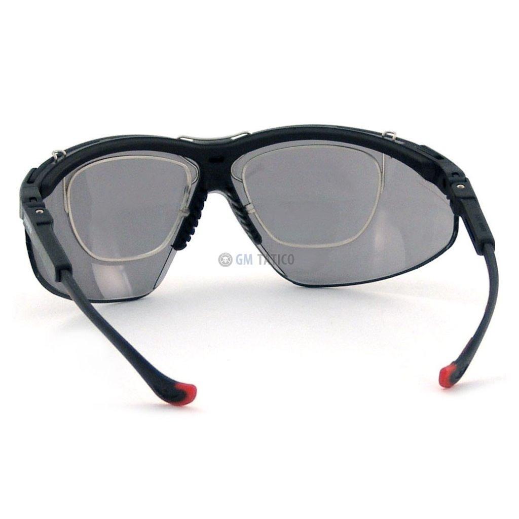7ce2cd1e89c04 kit honeywell uvex genesis xc óculos + lente + suporte. Carregando zoom.