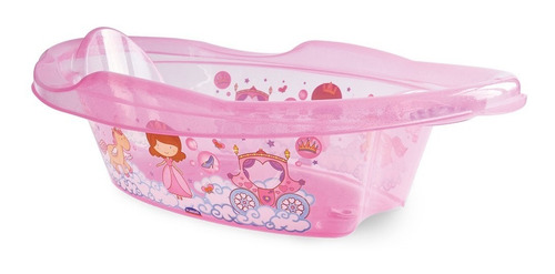 kit hora do banho banheira princesa + saboneteira gratis