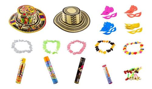 kit hora loca carnaval de barranquilla 24 personas