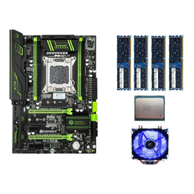 Kit Huananzhi X79 + E5-2680 V2-10 Core + 64 Gb Ram + Cooler