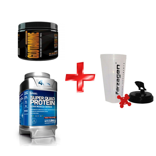 kit hyper muscle proteina +1 shaker nutrition systems