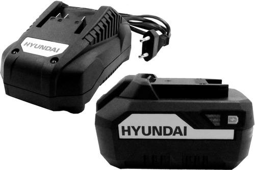 kit hyundai bateria 20v 4,0ah + cargador linea nueva 2020