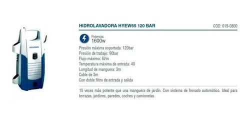 kit hyundai desmalezadora 52 cc + hidrolavadora 1600w - sti