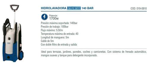 kit hyundai desmalezadora 52 cc + hidrolavadora 1700w cuotas