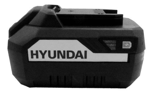 kit hyundai sierra circular + bateria 4,0ah + cargador - sti