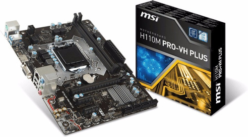 kit i3 7100 3.90ghz 3mb cache + msi h110m pro-vh plus c/nf