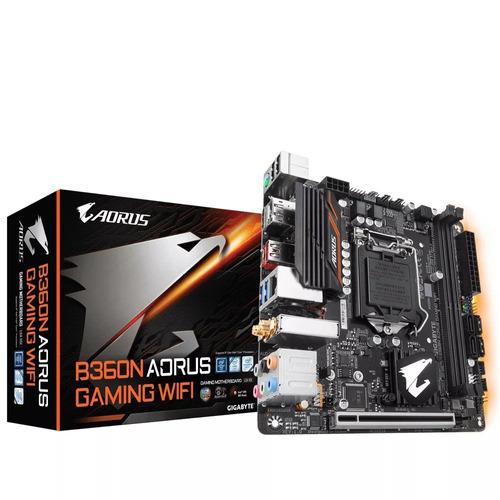 kit i5-8400 gamer 16gb ram hd 1tb placa mb aorus + brinde