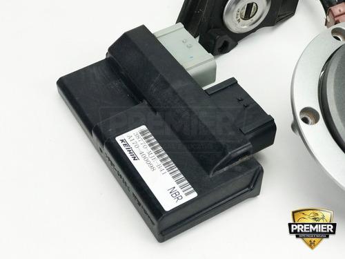 kit ignição módulo central chave antena tampa cb cbr 650 15