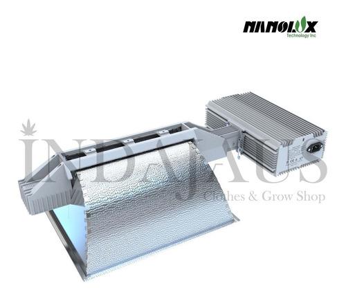 kit iluminación lec nanolux cmh1000 + lampara indoor cultivo