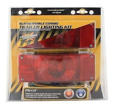 kit iluminación trialer 4 pedazo de combo para todos los rem