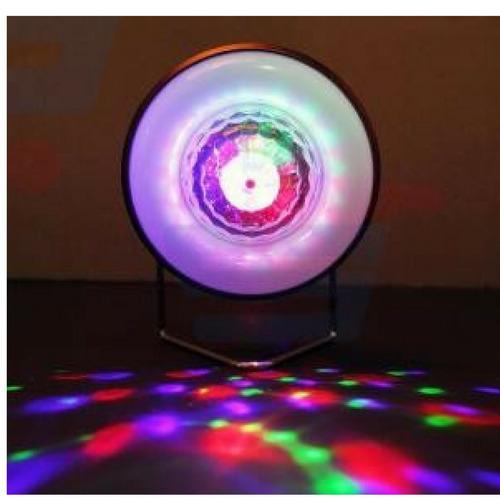kit iluminação boate discoteca bola giratória e27 luminária