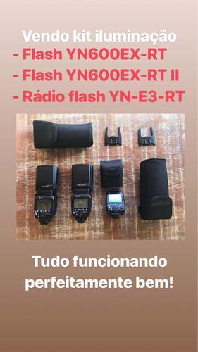 kit iluminação - rádio flash yongnuo